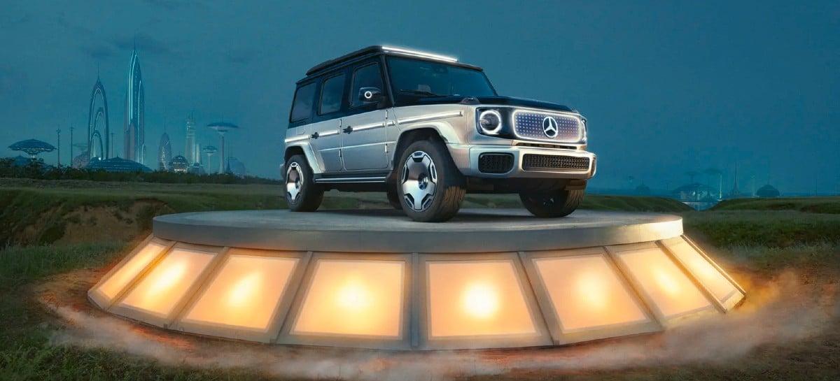 Mercedes revela conceito do SUV elétrico Classe G
