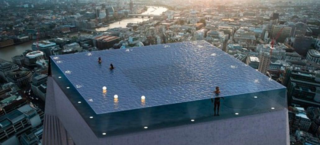 Infinity London vai ser a primeira piscina com bordas infinitas em todos os lados; Veja como entrar