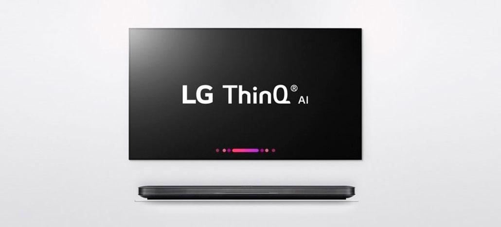 Smart TVs OLED 4K e Super UHD da LG para 2018 têm como principal foco a IA