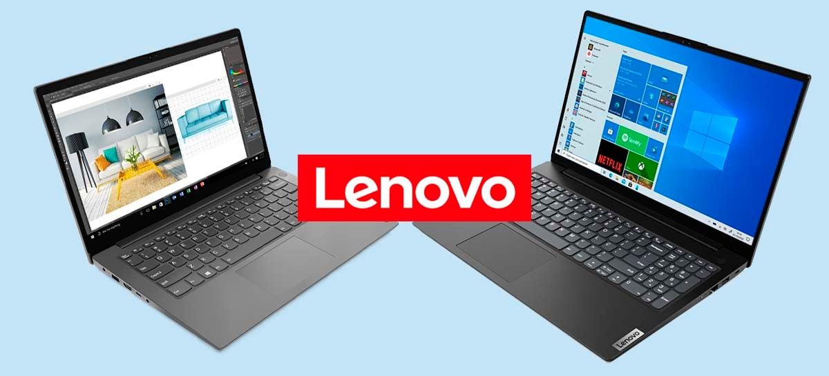 Notebooks Lenovo V14 e V15 da 2ª geração são lançados no Brasil; veja especificações e preços