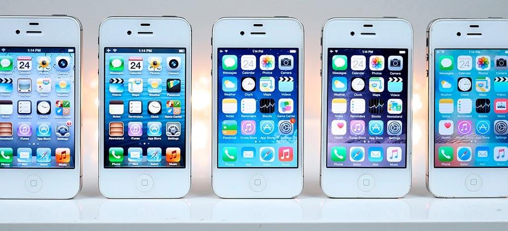 Apple disponibiliza versões antigas do iOS por engano