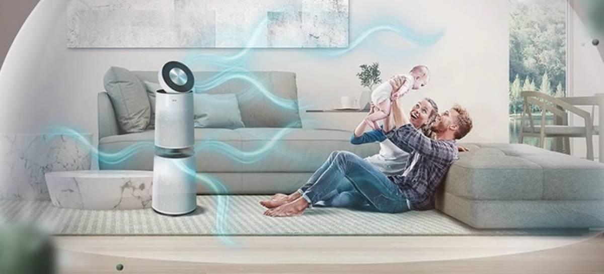 LG PuriCare 360: conheça o purificador de ar com funções inteligentes