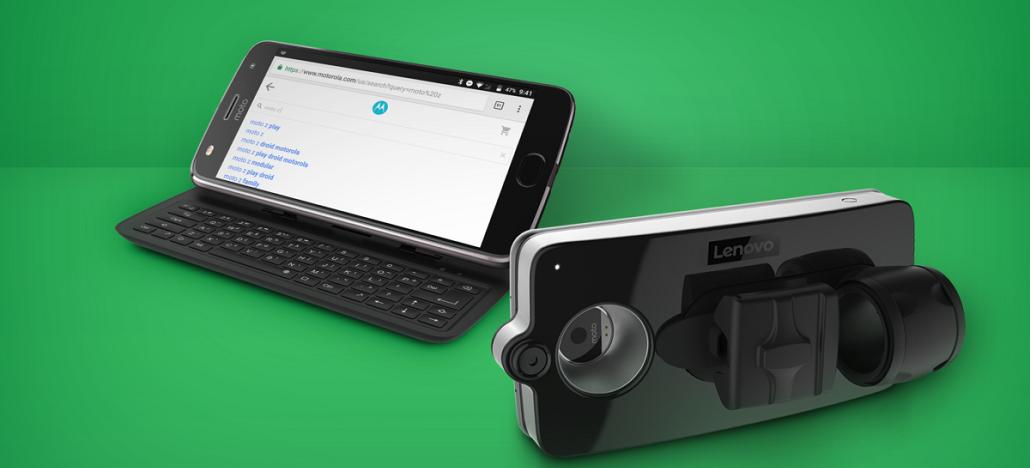 Motorola anuncia que Slider Keyboard Moto Mod será vendido neste ano