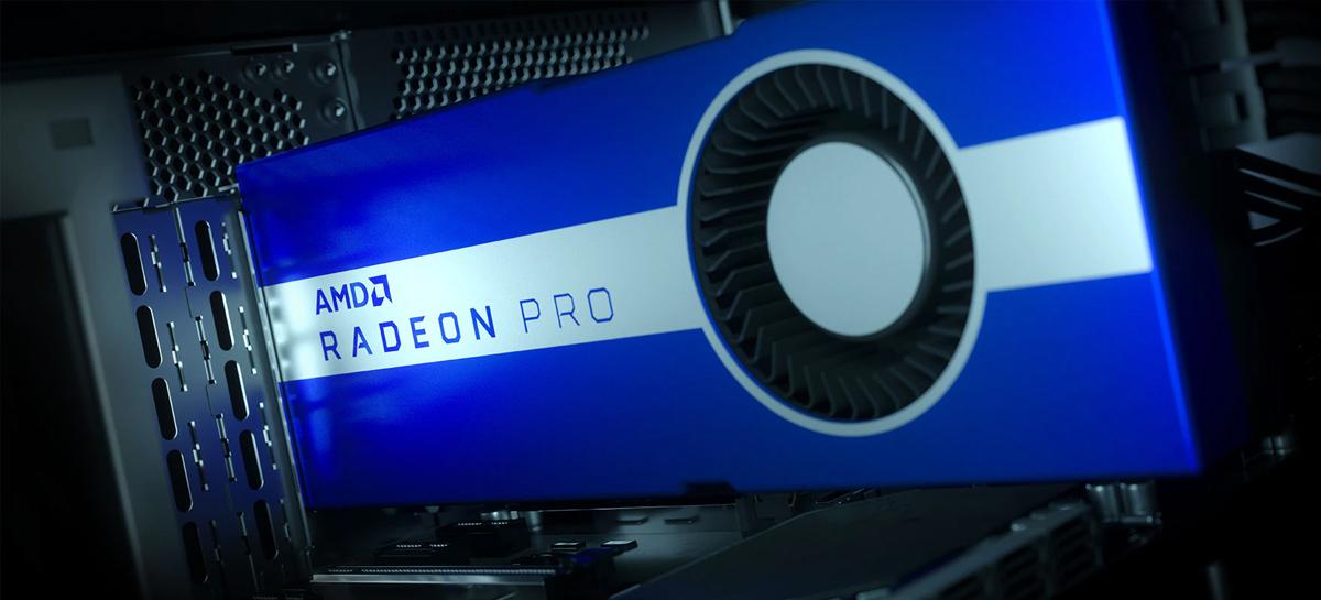 AMD apresenta placas gráficas Radeon Pro VII e lança atualizações para o software Radeon Pro