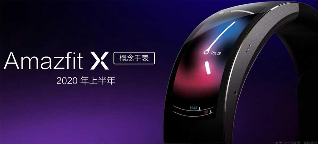 Xiaomi anuncia três novos smartwatches, incluindo o futurístico Amazfit X