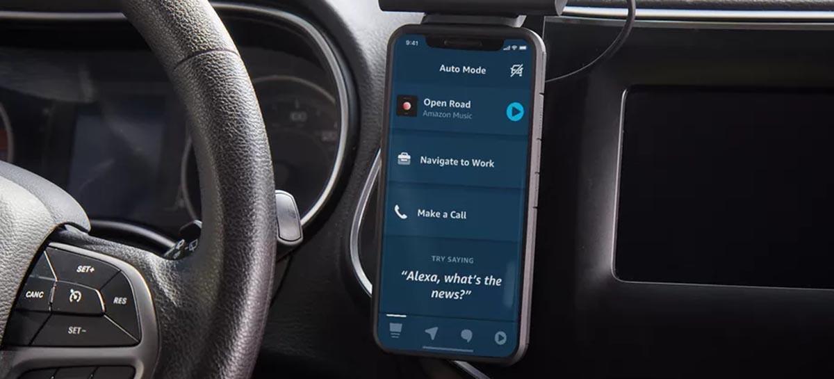 Amazon apresentou o novo recurso da Alexa para motoristas