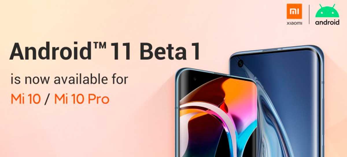 Andorid 11 Beta 1 está disponível para Xiaomi Mi 10, Mi 10 Pro, PocoF2 Pro