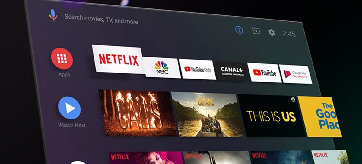 Andorid 11 está chegando as TVs com foco em recursos de mídia