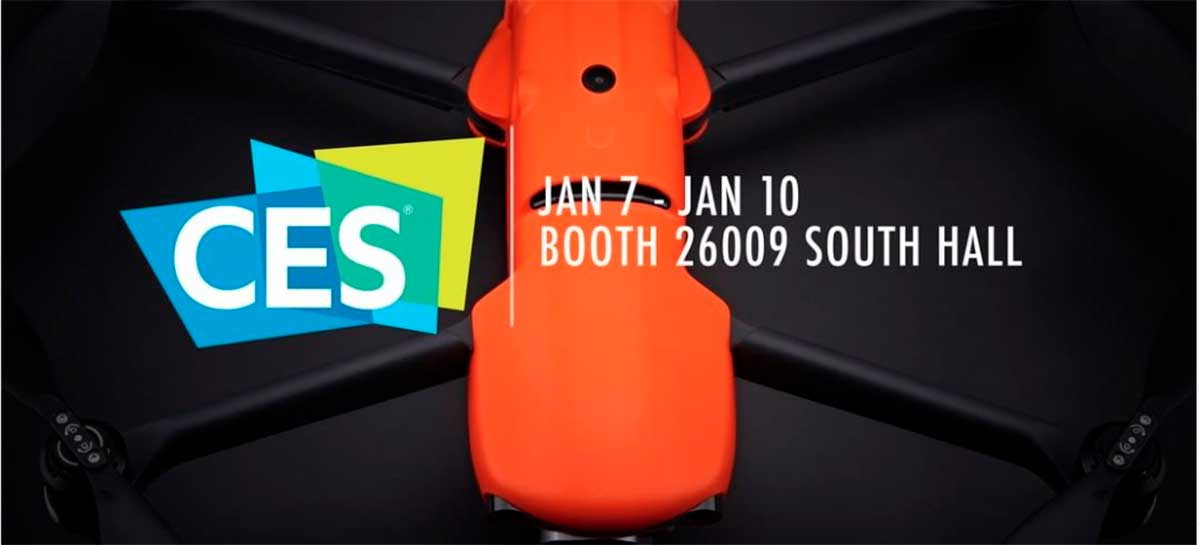 Incrível drone Autel Evo 2 deve ser apresentado na CES 2020