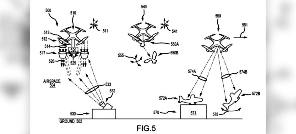Patente da Disney mostra drones sendo usados em performances ao vivo