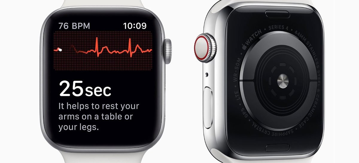 Aviso antecipado de ECG no Apple Watch salva vida de médico de 66 anos