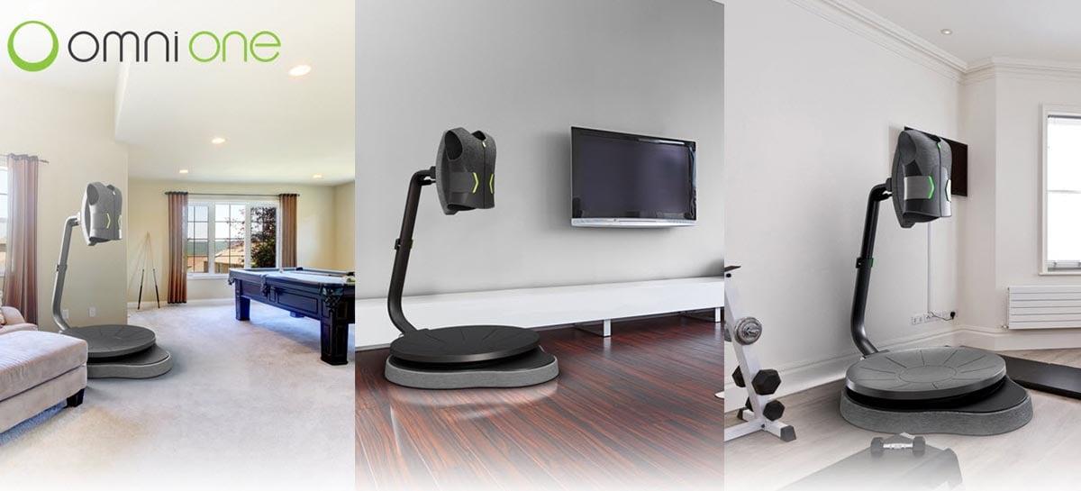 Empresa apresenta esteira para usar com realidade virtual em casa