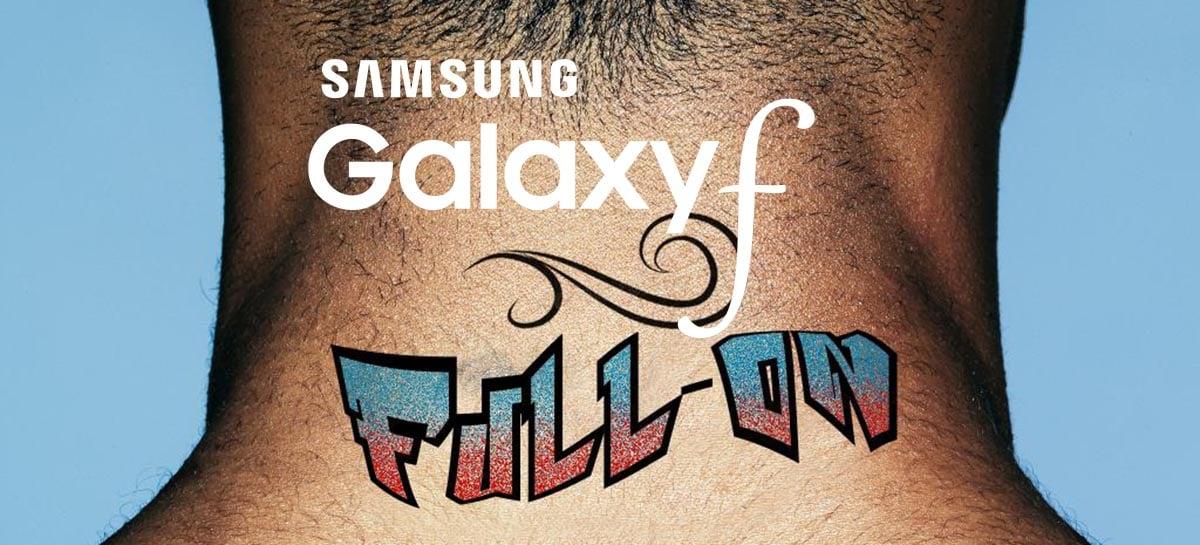 Samsung anuncia a nova série de smartphones chamada de Galaxy F