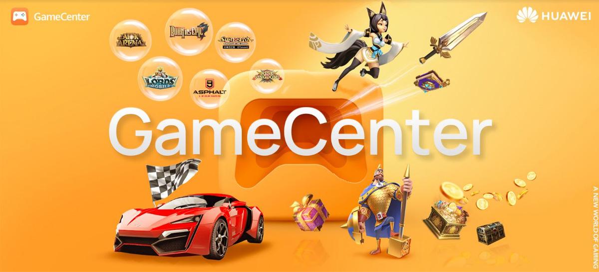 Huawei apresenta a GameCenter, sua nova plataforma de distribuição de jogos mobile
