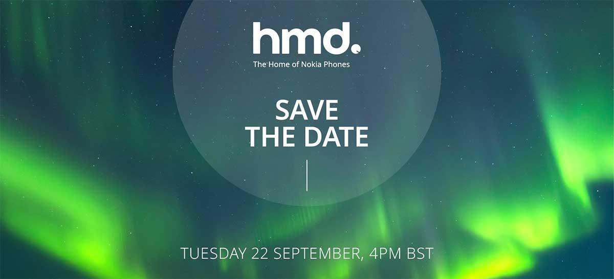 Novos celulares Nokia serão apresentados em 22 de setembro, segundo HDM Global