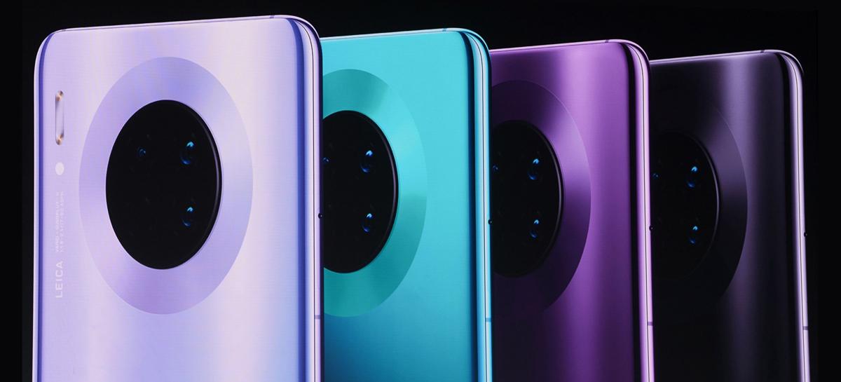 Huawei Mate 40 Pro pode ter 8 câmeras no total - 5 traseiras e 3 frontais