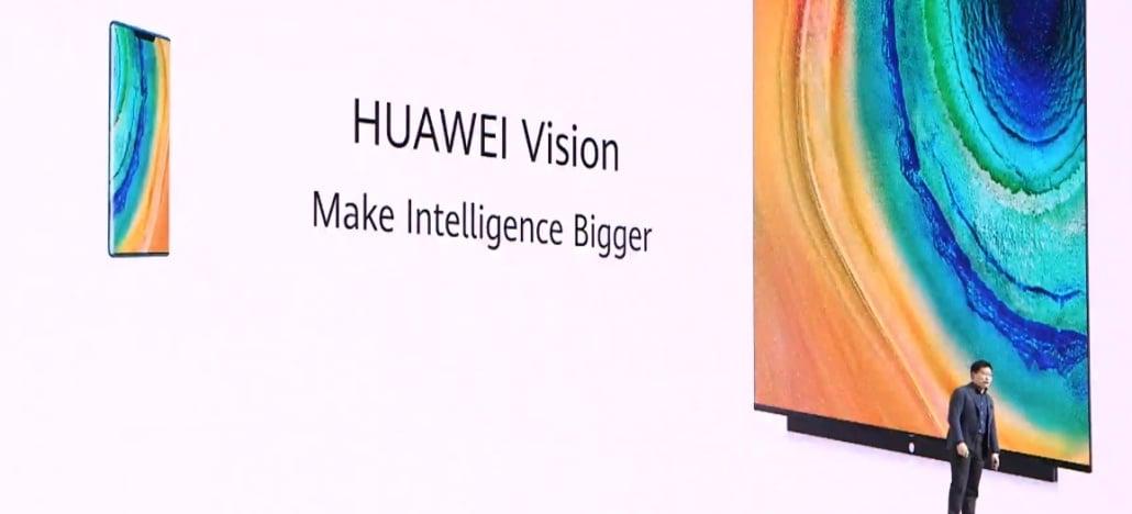 Huawei Vision TV usa a tecnologia artificial para ser o centro de casas inteligentes