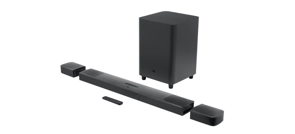 JBL Bar 9.1 é uma soundbar com suporte para Dolby Atmos e alto-falantes destacáveis