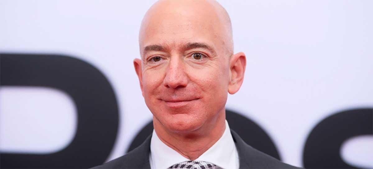 Jeff Bezos aumenta sua fortuna em US$ 13 bilhões em 1 dia