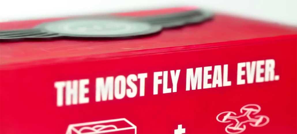 KFC está usando drones para entregar suas comidas na China