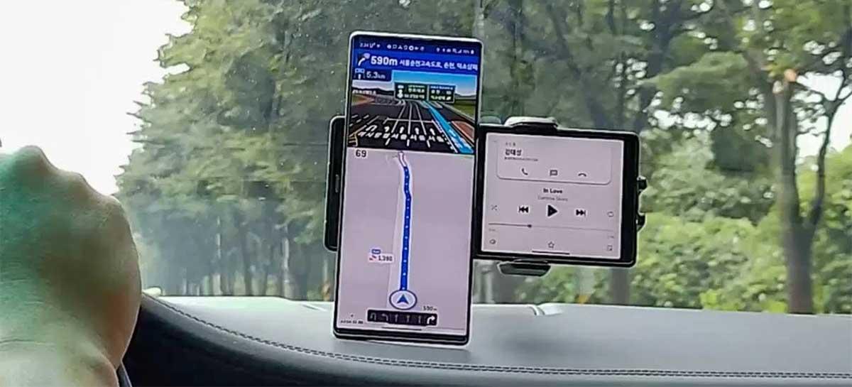 LG vai apresentar celular Wing com tela dupla giratória dia 14 de setembro