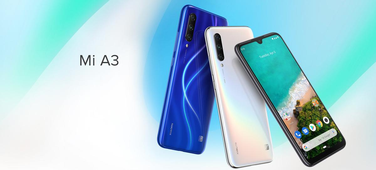 Xiaomi libera e remove na sequência o Android 10 para o Mi A3
