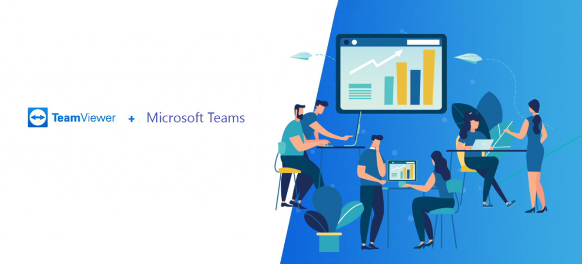 TeamViewer anuncia integração com o Microsoft Teams