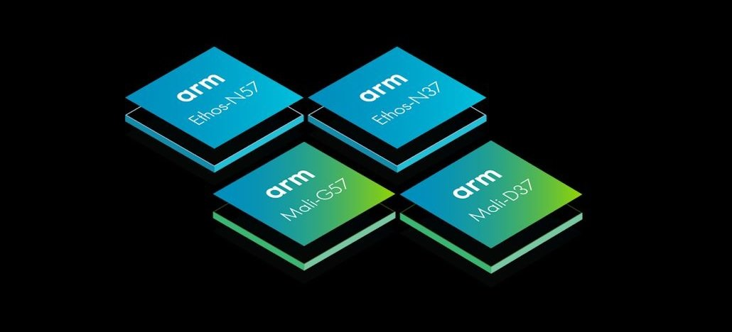 ARM anuncia GPU Mali-G57 e nova linha de NPUs chamada Ethos