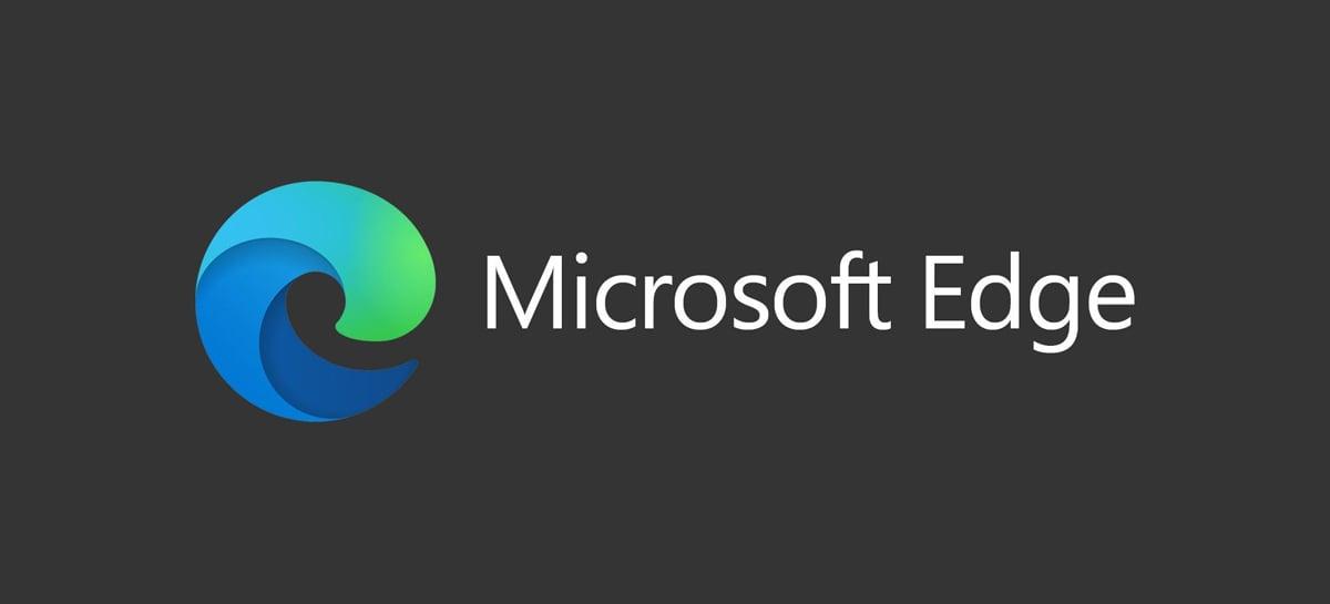 Imagem mostra o navegador Microsoft Edge rodando no Linux