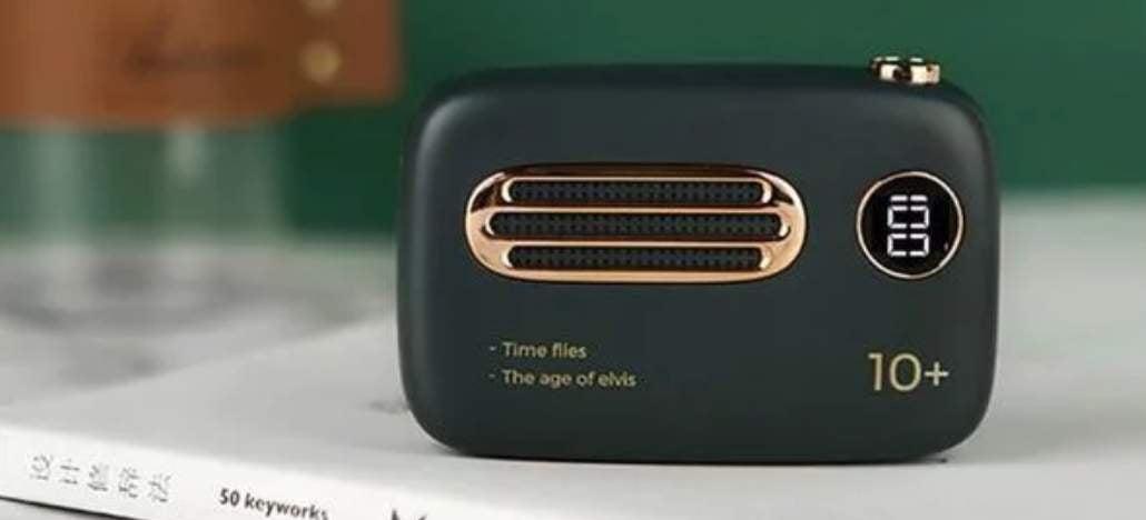 Xiaomi lança power bank com aparência de rádio retrô