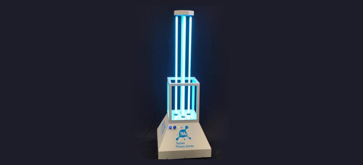 Covid-19: Robô que emite luz ultravioleta para esterilização entra em operação no Brasil