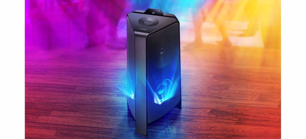 Samsung lança no Brasil Sound Tower MX-T55
