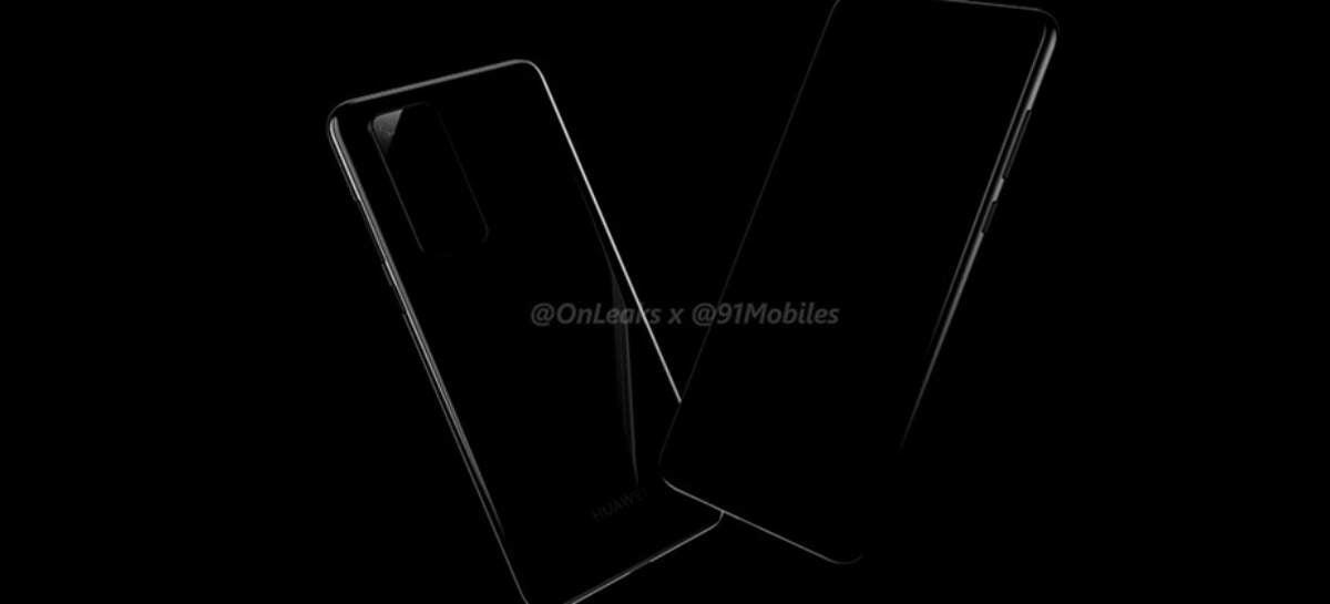 Huawei P40 Pro pode chegar ao mercado com lente periscópio e zoom 10X [Rumor]