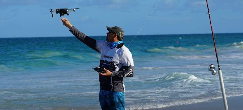 Pesca com drones ganha cada vez mais adeptos