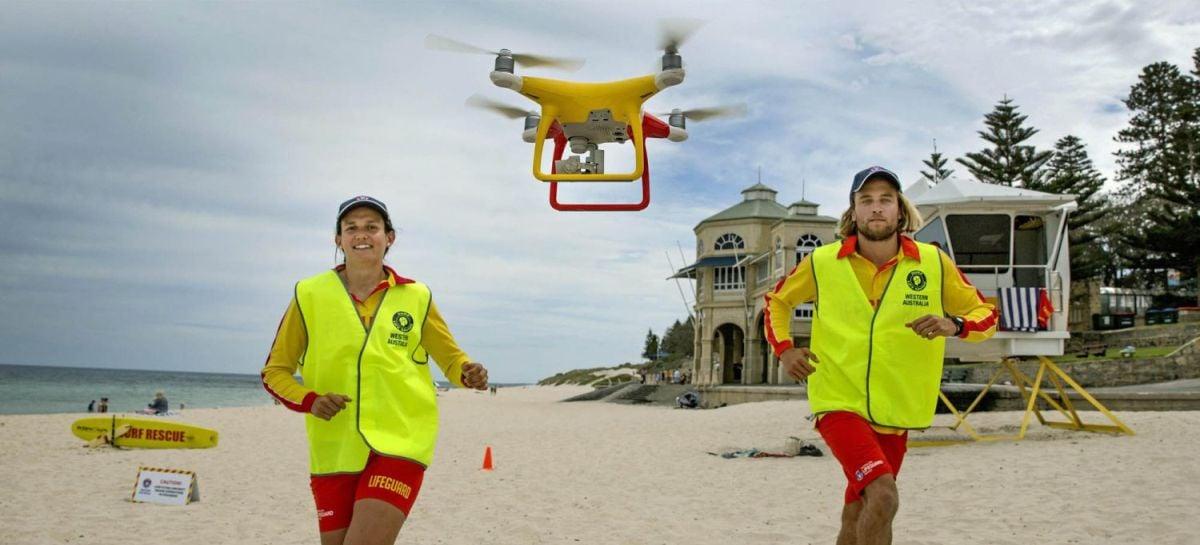 Drones serão utilizados para vistoriar praias australianas