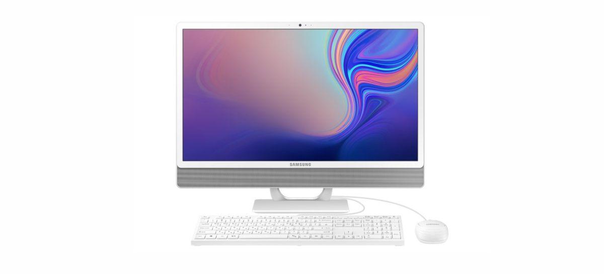 Samsung anuncia nova geração de computadores da linha All in One