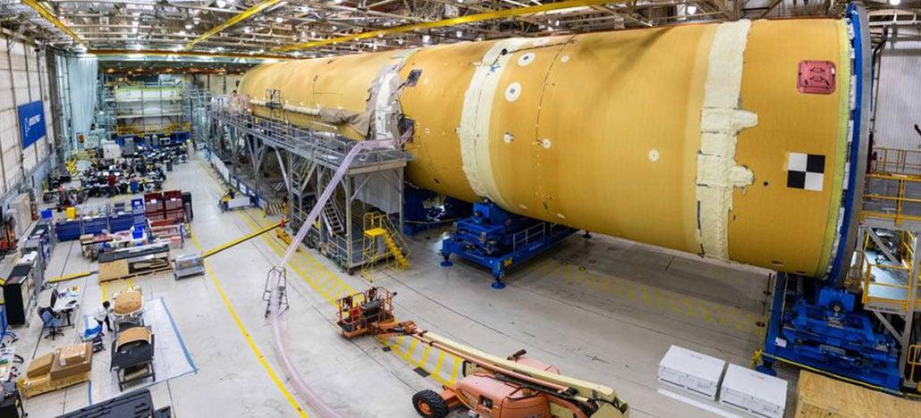 NASA está na parte mais complexa da construção do foguete para a missão Ártemis