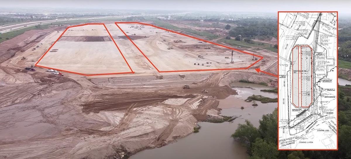 Tesla apresenta as plantas da Gigafactory Texas sua nova fábrica
