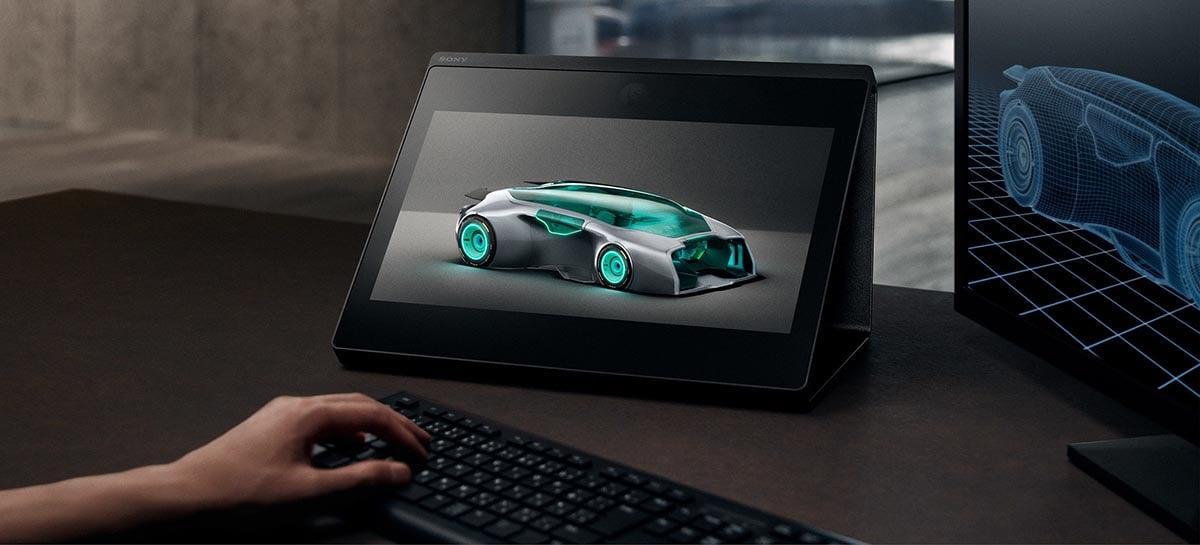Sony apresenta tela com display holográfico custando US $ 5.000