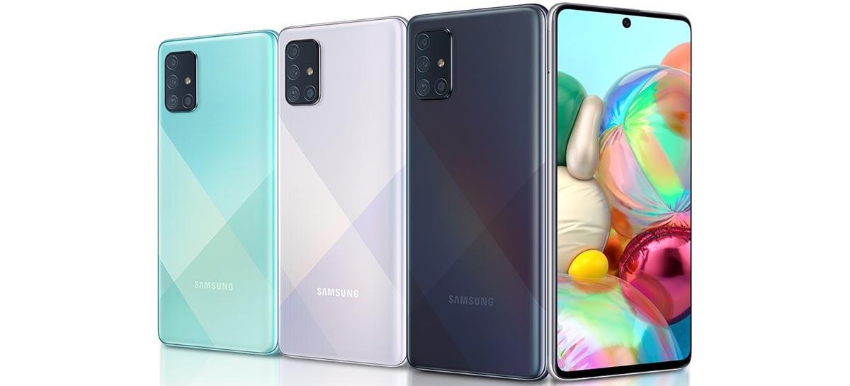 Novo Samsung Galaxy A72 pode vir com 5 câmeras traseiras, diz site