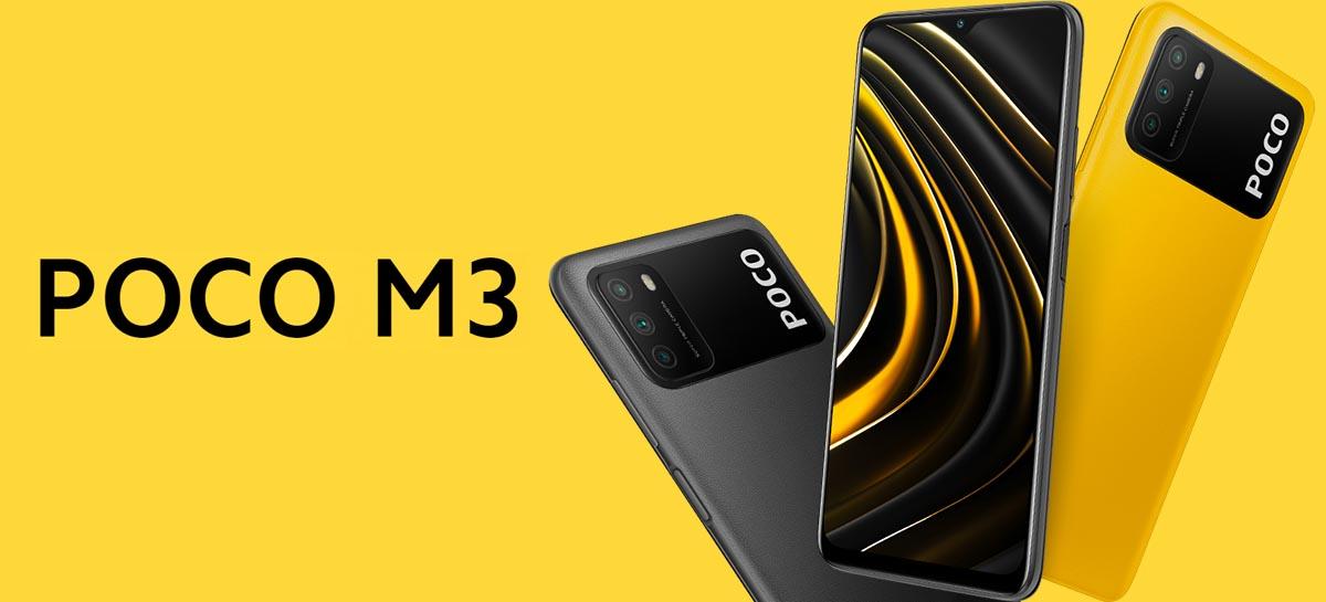 Novo POCO M3 é anunciado oficialmente para a Europa custando $ 129