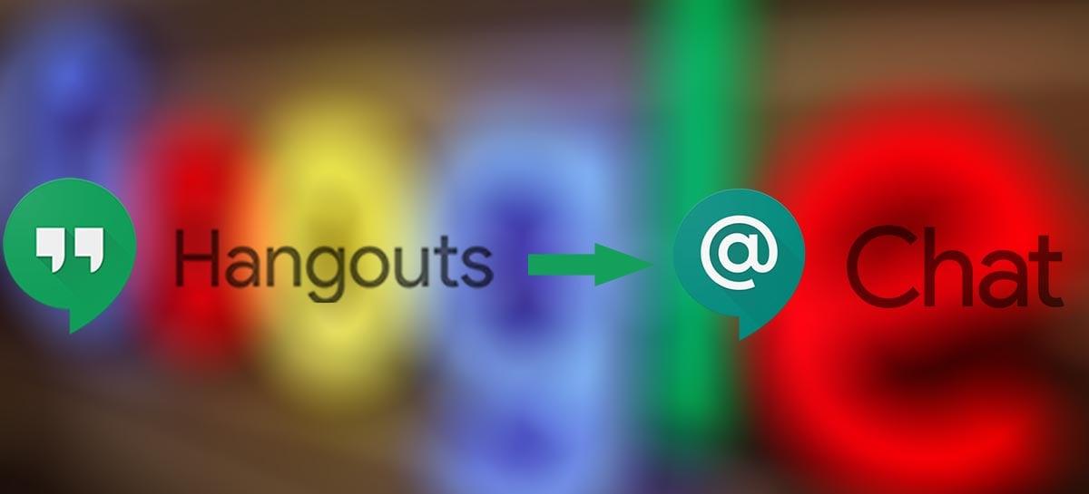 Google apresenta versão gratuita do Chat que substituirá o Hangouts