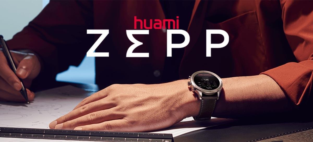Huami anuncia novo smartwatch topo de linha Zepp Z com Amazon Alexa