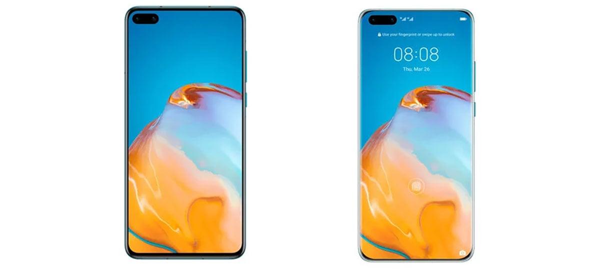 Design dos dispositivos Huawei P40  P40 Pro são revelados