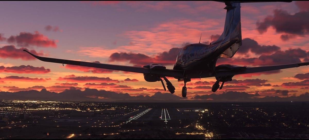 Microsoft lança o segundo patch do Flight Simulator com diversas correções e melhorias