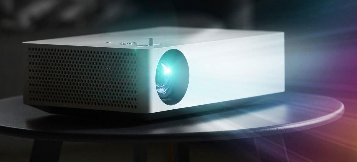 LG lança novo projetor da linha CineBeam