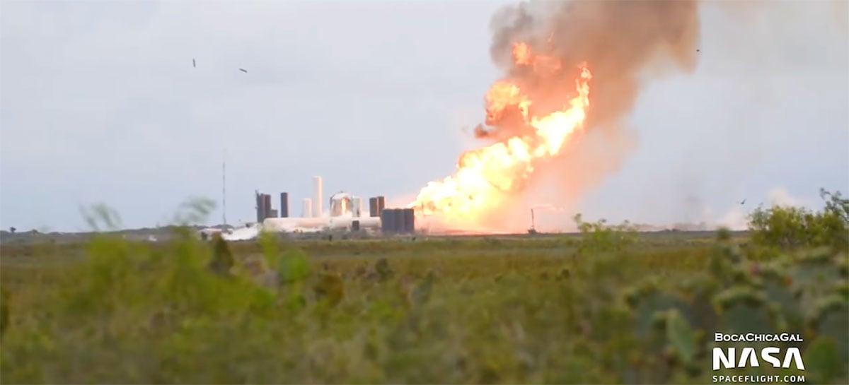 Mais um protótipo Starship da SpaceX explode após teste - veja vídeo