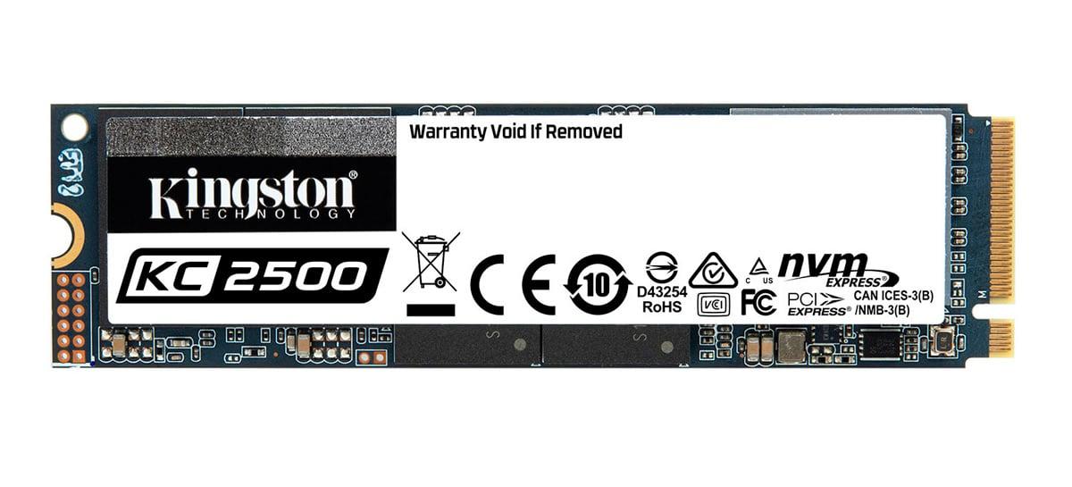 KC2500 é o novo SSD M.2 NVMe PCIe 3.0 da Kingston com leitura de até 3.500MB/s
