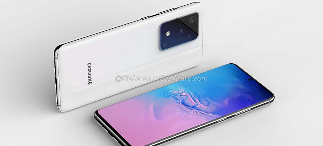 Vazamento mostra painel frontal do Samsung Galaxy S11