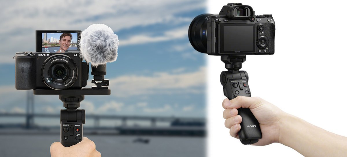 Sony GP-VPT2BT é um suporte de câmera com conectividade Bluetooth
